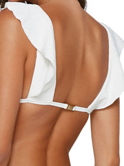 ViX Milano Liz Top Off White, view 4, click to see full size