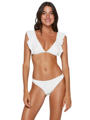 ViX Milano Liz Top Off White, view 1, click to see full size