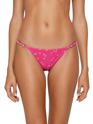 ViX Beads String Cheeky Bottom Brigitte Pink