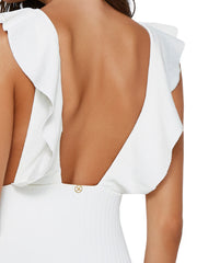 ViX Milano Liz One Piece Full Coverage Off White