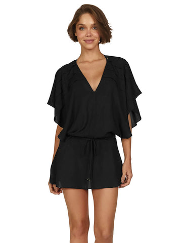 ViX Vintage Pleats Tunic in Black