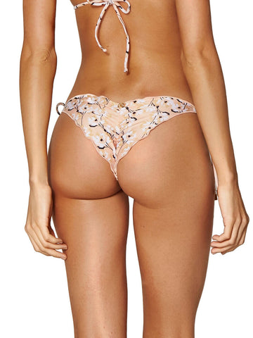 ViX Spring Ripple Tie Brazilian Bottom Vanilla