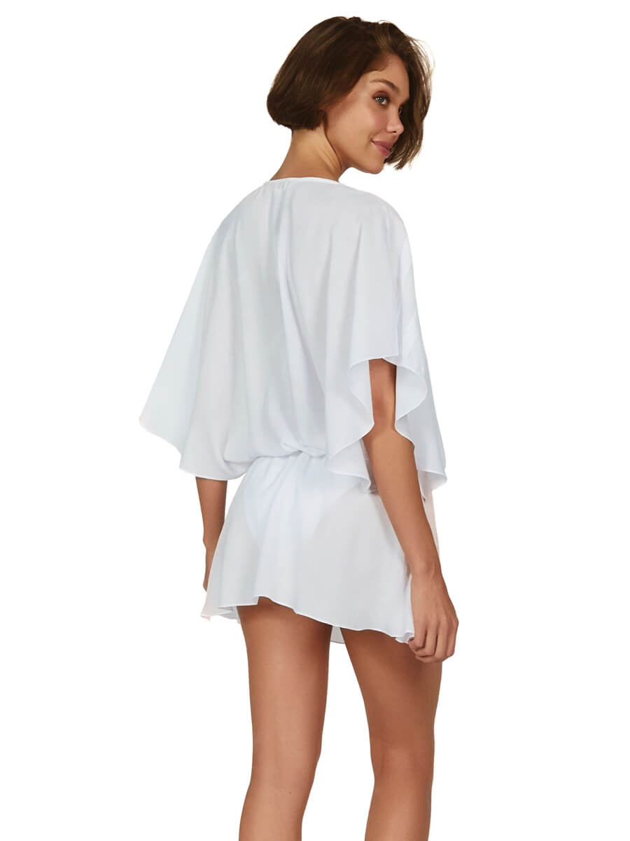 ViX Vintage Pleats Tunic in White