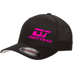 DT Trucker Hat (Black/Pink)