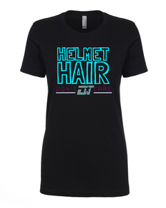 Ladies Helmet Hair Crew Tee