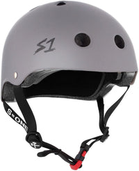 S1 MINI LIFER GREY MATTE HELMET