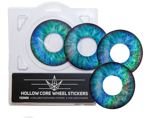 ENVY 110MM HOLLOW CORE BLUE EYE WHEEL STICKERS