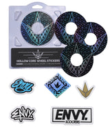 ENVY 120MM HOLLOW CORE GEO WHEEL STICKERS