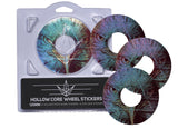ENVY 120MM HOLLOW CORE HAWK WHEEL STICKERS