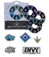 ENVY 120MM HOLLOW CORE HEX WHEEL STICKERS