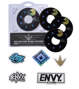 ENVY 120MM HOLLOW CORE PACMAN WHEEL STICKERS