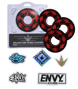 ENVY 120MM HOLLOW CORE SPIN WHEEL STICKERS