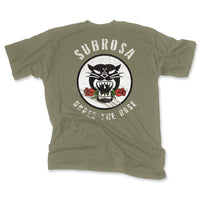 SUBROSA BATTLE CAT SHORT SLEEVE SHIRT