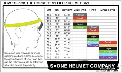 S1 RETRO LIFER WHITE MATTE BLACK STRIPES HELMET