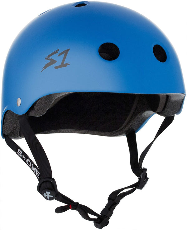 S1 LIFER CYAN MATTE HELMET