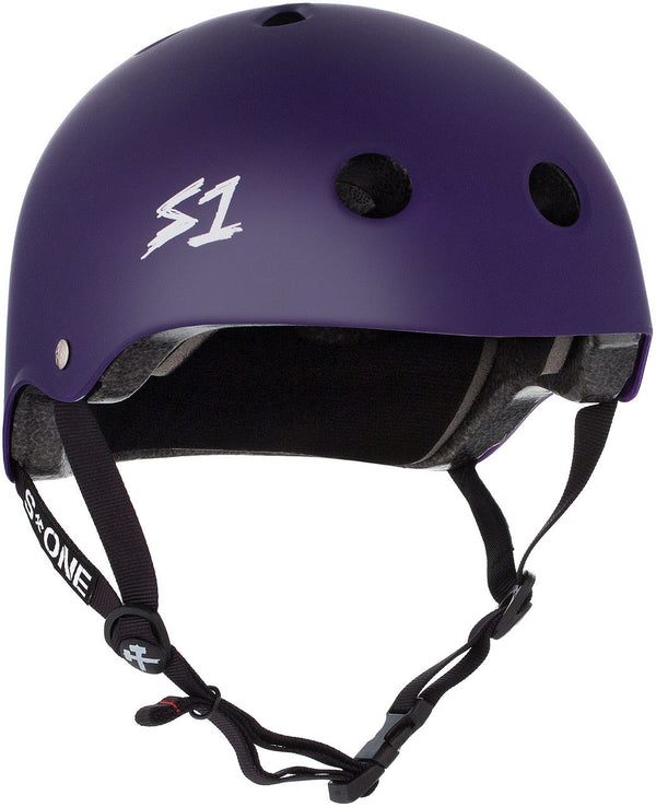 S1 LIFER PURPLE MATTE HELMET