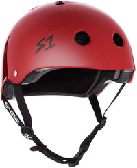 S1 LIFER SCARLET RED GLOSS HELMET