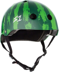 S1 LIFER SKATE HOUSE MEDIA WATERMELON HELMET