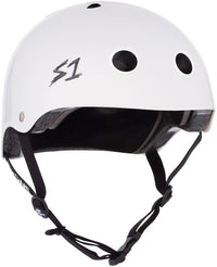 S1 LIFER WHITE GLOSS HELMET