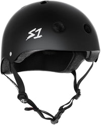 S1 MEGA LIFER BLACK MATTE HELMET