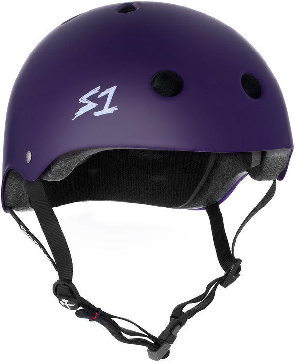 S1 MEGA LIFER PURPLE MATTE HELMET