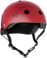 S1 MEGA LIFER SCARLET RED GLOSS HELMET