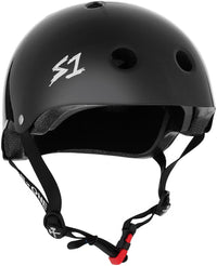 S1 MINI LIFER BLACK GLOSS HELMET
