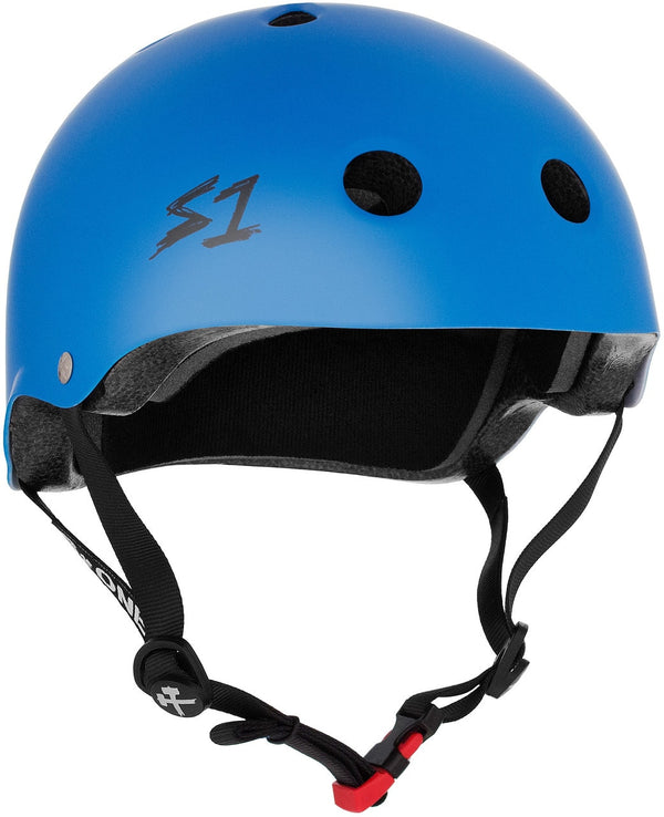 S1 MINI LIFER CYAN MATTE HELMET