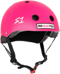 S1 MINI LIFER PINK HELMET POSSE HELMET