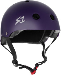 S1 MINI LIFER PURPLE MATTE HELMET