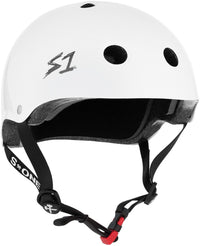 S1 MINI LIFER WHITE GLOSS HELMET