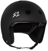 S1 RETRO LIFER BLACK MATTE HELMET