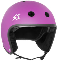 S1 RETRO LIFER BRIGHT PURPLE MATTE HELMET