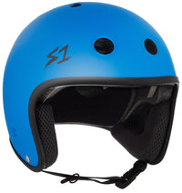 S1 RETRO LIFER CYAN MATTE HELMET