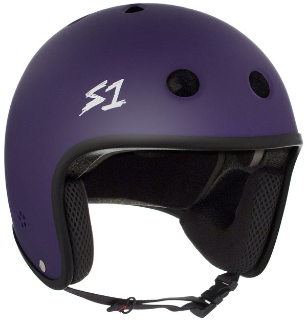 S1 RETRO LIFER PURPLE MATTE HELMET