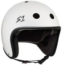 S1 RETRO LIFER WHITE GLOSS HELMET