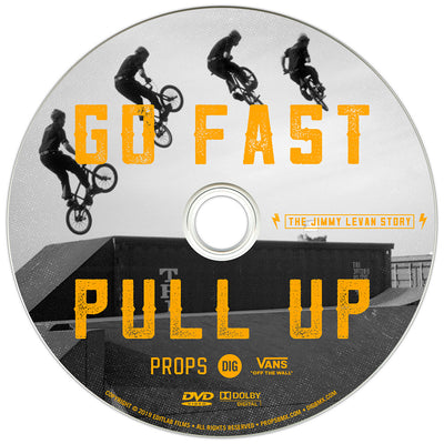 GO FAST PULL UP - THE JIMMY LEVAN STORY DVD