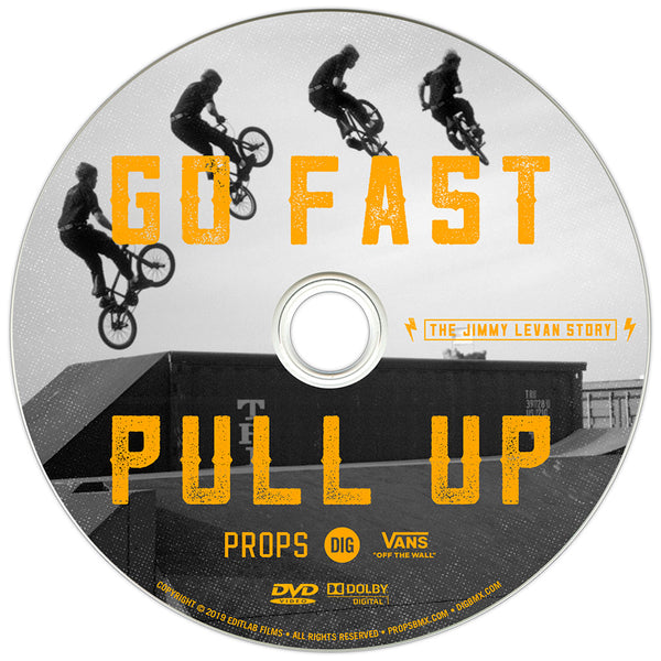 3e030be9 GO FAST PULL UP - THE JIMMY LEVAN STORY DVD – Block Bikes
