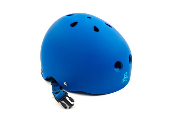 TRIPLE 8 SWEATSAVER BLUE HELMET