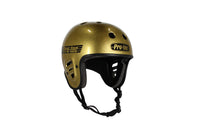 PRO-TEC FULL CUT GOLD FLAKE HELMET