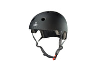 TRIPLE 8 DUAL CERTIFIED CPSC BLACK HELMET