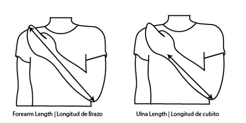 how to measure forearm length
