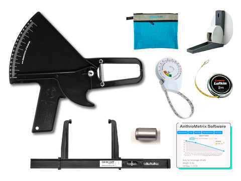 kit slim guide with BMI tape measure transport bag