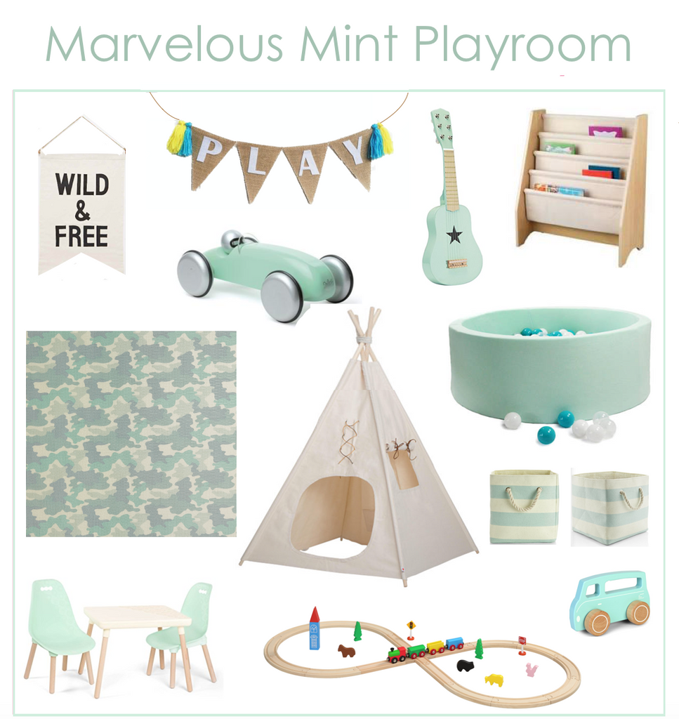 Mint Kids Playroom