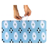 Blue Aztec Bath Kneeler - The Pieces Play Company