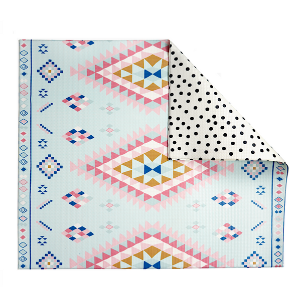 Moroccan Rug/ Polka Dot Play Mat - Shipping Late December - The Pieces Play Company
