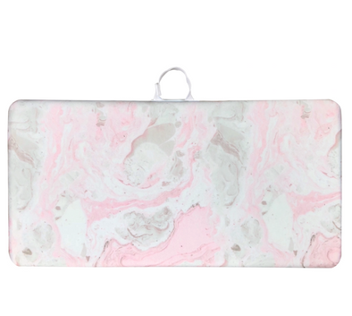 Pink Marble Bath Kneeler - The Pieces Play Company
