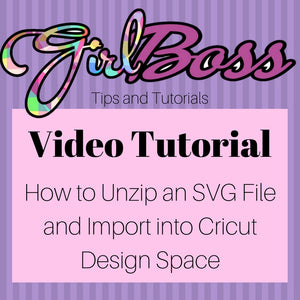 How to Unzip a Zip File and Import Files into the Cricut Design Space