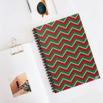 03E Cocoa Twins Ugly Sweater Spiral Notebook - Ruled Line