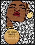 BALD, BOLD AND BEAUTIFUL Coloring Book (E-book Version)